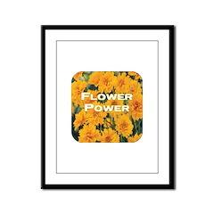 Coreopsis Flower Power Framed Panel Print