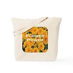 Coreopsis Flower Power Tote Bag