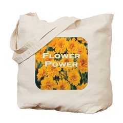 Coreopsis Flower Power Tote Bag