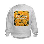 Coreopsis Flower Power Kids Sweatshirt