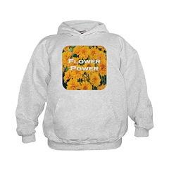 Coreopsis Flower Power Hoodie