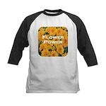 Coreopsis Flower Power Kids Baseball Jersey