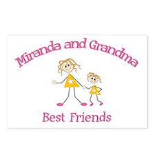 Miranda & Grandma - Best Frie Postcards (Package o