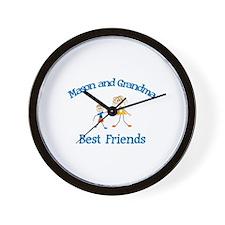 Mason & Grandma - Best Friend Wall Clock