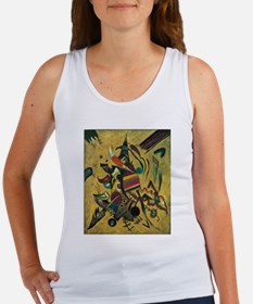 Points by Kandinsky, Abstract Art Tank Top