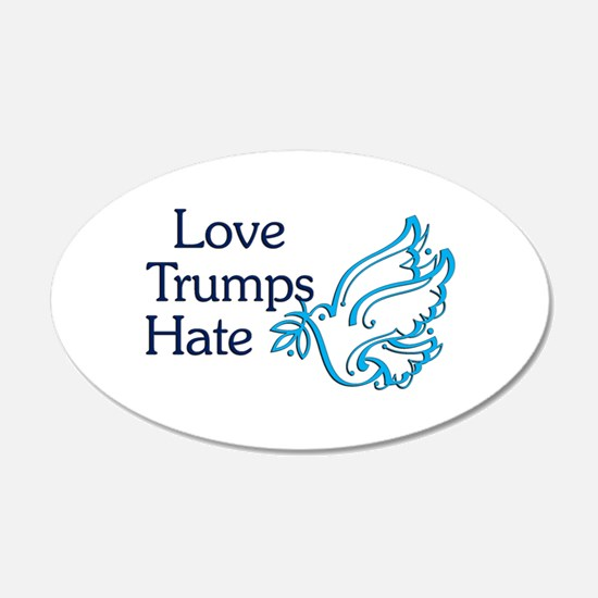 Love Trumps Hate Wall Decal