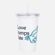 Love Trumps Hate Acrylic Double-wall Tumbler