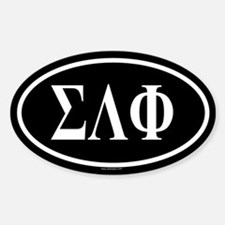 SIGMA LAMBDA PHI Oval Decal