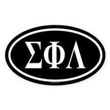 SIGMA PHI LAMBDA Oval Decal