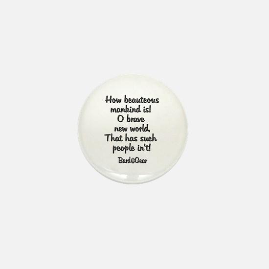 Mankind Mini Button