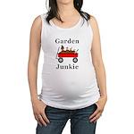 Garden Junkie Maternity Tank Top