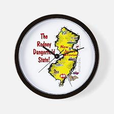 NJ-Rodney! Wall Clock