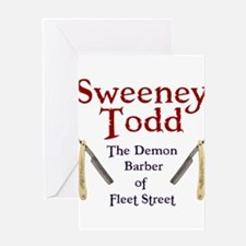 Sweeney Todd Greeting Cards