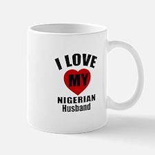 I Love My Nigerian Husband Mug