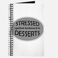 Stressed is Desserts logo -black Journal
