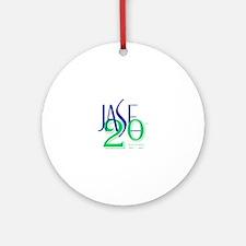 Cute Jase Round Ornament