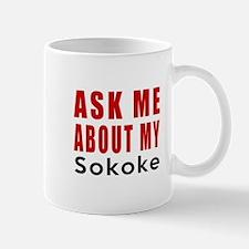 Ask Me About My Smoke Cat Designs Mug