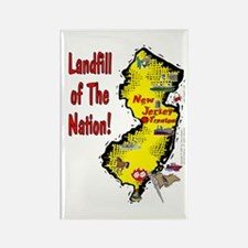 NJ-Landfill! Rectangle Magnet
