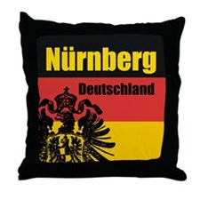 Nürnberg Deutschland Throw Pillow