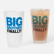 Big Brother Finally Drinking Glass