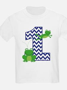 Frog 1st Birthday T-Shirt