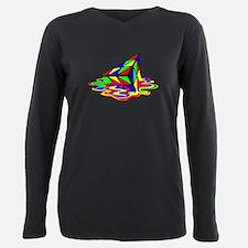 Pyraminx cude painting01B T-Shirt