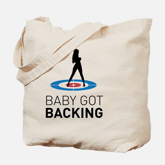 Unique Sport curling Tote Bag