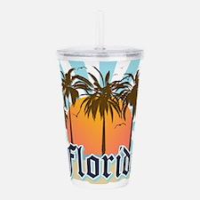 Florida USA Acrylic Double-wall Tumbler
