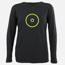 Gaming Power button Women's Black T-Shirt