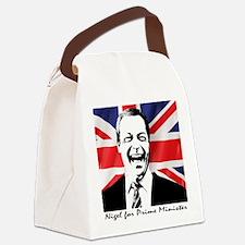 Unique Nigel Canvas Lunch Bag