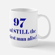 97 Still Sexiest 2 Blue Mugs