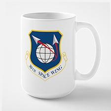 30th Space Wing Large Mug