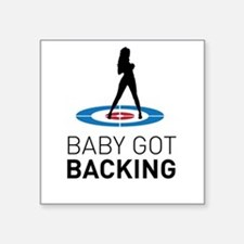 Baby got backing Sticker