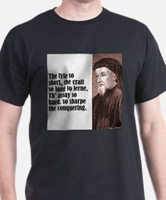 "Chaucer ""Lyfe So Short"" T-Shirt"