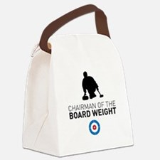 Chairman of the board weight Canvas Lunch Bag