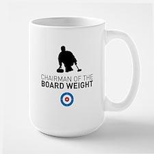 Chairman of the board weight Mugs