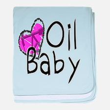 Oilfield Baby baby blanket
