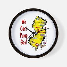 NJ-Gas! Wall Clock
