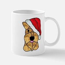 Santa Wheaten Terrier Coffee Mug - Regular Mugs