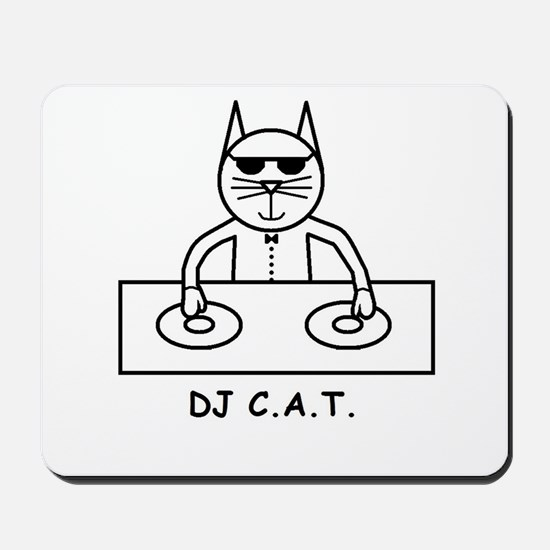 DJ C.A.T. Mousepad