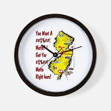 NJ-Motto! Wall Clock