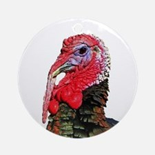 TURKEY Round Ornament