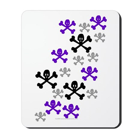 Skull'n'CrossbonesSwarm Mousepad