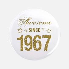 50th birthday for men Button