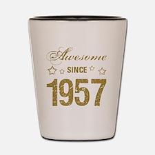Unique Year Shot Glass
