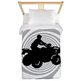 Four wheeling Luxe Twin Duvet Cover