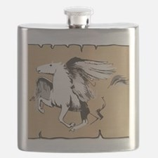 Cute Ride mare Flask