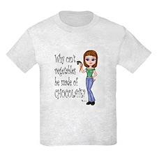 Chocolate Veggies T-Shirt
