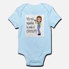 Chocolate Veggies Infant Bodysuit