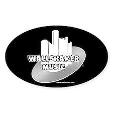 Wallshaker Music Oval Decal